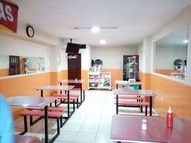 Vendo Restaurante Listo para Trabajar
