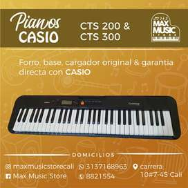 Teclado digital CASIO CTS200