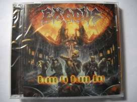 exodus blood in blood out cd sellado