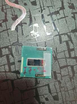 Vendo procesador de portátil core i7 3ra generación