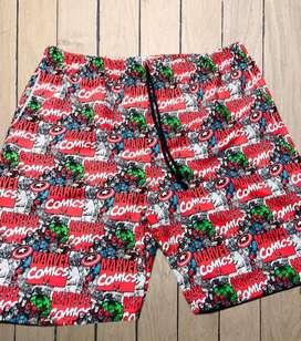 Pantalonetas sublimadas antifluido para toda la familia diseños exclusivos