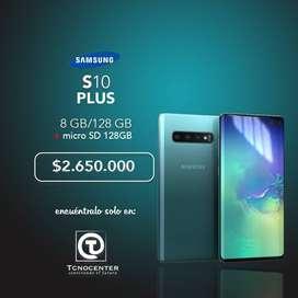 Samsung Galaxy S10 Plus 128gb + MicroSd 128g, Nuevos, Sellados, Factura, Garantia, Tienda Fisica.