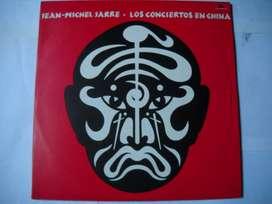 jean michel jarre los conciertos en china 2 lp vinilos perfecto estado
