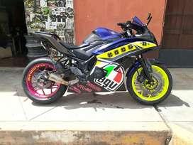 vendo mi moto Yamaha r3