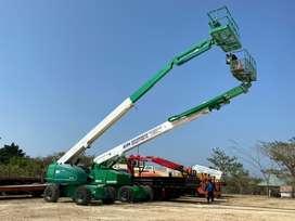 Manlift JLG 660 SJ de 22 metros año 2001 horas de uso 5200