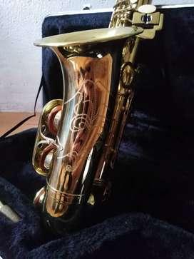 Saxofón alto. Saxo alto Parquer.