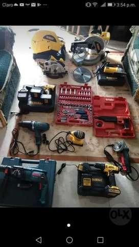 Acolilladoras tronzadoras taladros pulidoras herramienta eléctrica de toda clase llamanos  320//6347739