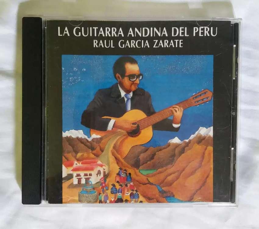 Raul garcia zarate la guitarra andina del peru cd original