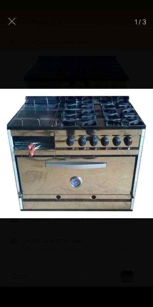 Cocina Industrial Multifuncional 0