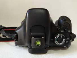 Canon T3i con tres lentes