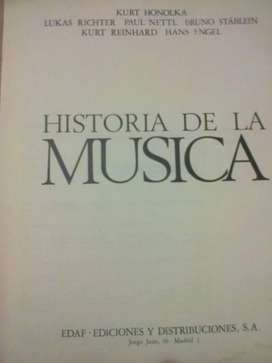 Historia de la música como nuevo.