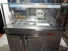 Nebera refrigeradora para ensaladas cocteles