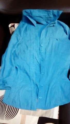 Linda Blusa Azul Talla S