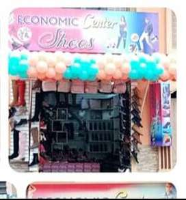 Se vende o se cambia negocio de calzado
