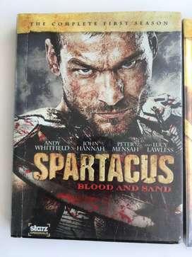 SPARTACUS TODAS LAS TEMPORADAS ORIGINAL