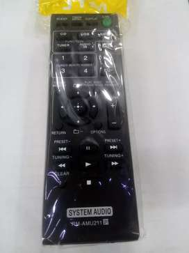Control remoto equipo Sony bluetooth