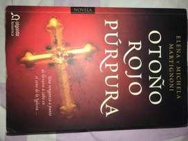 Libro Otoño Rojo Púrpura de Elena y Michela Martignoni