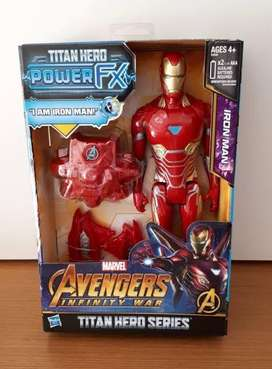 Iron man titan hero power fx luces y sonidos