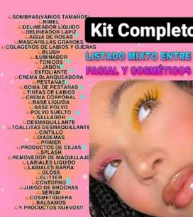 Kit de productos de maquillaje profesional
