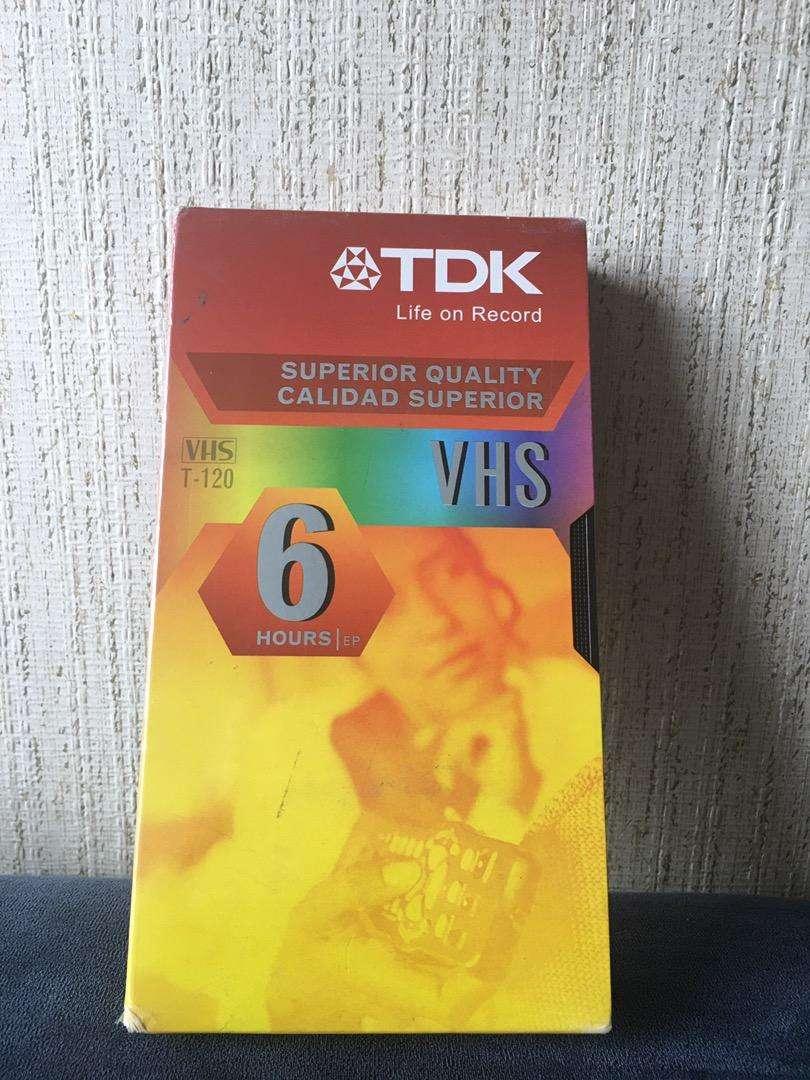 Cassette TDK VHS 6 Horas nuevo! 0