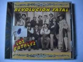 Los Fatales Revolucion Fatal Cd Sellado