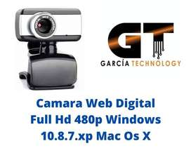 Camara Web Digital Full Hd 480p Windows 10.8.7.xp Mac Os X