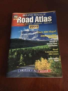 Atlas de carreteras Año 1999 USA, Canada y Mexiko
