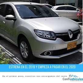 Renault Sandero Dynamique AT 2018 ¡Págalo Fácil en Cuotas Bajas y Con Respaldo!