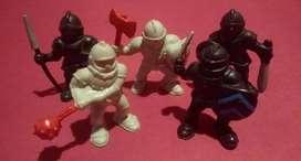 soldados medievales