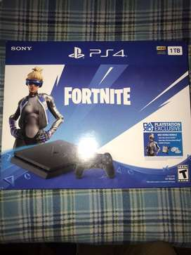 Playstation 4 nueva 1tb edicion fornite