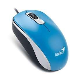 Mouse Genius DX 110 USB Color Azul