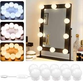 Kit luces LED de espejo estilo Hollywood