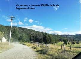 De oportunidad lote en Puente Florez-mejor sector Sogamoso Boyaca