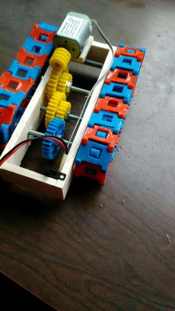 Maqueta Proyecto Carro Oruga