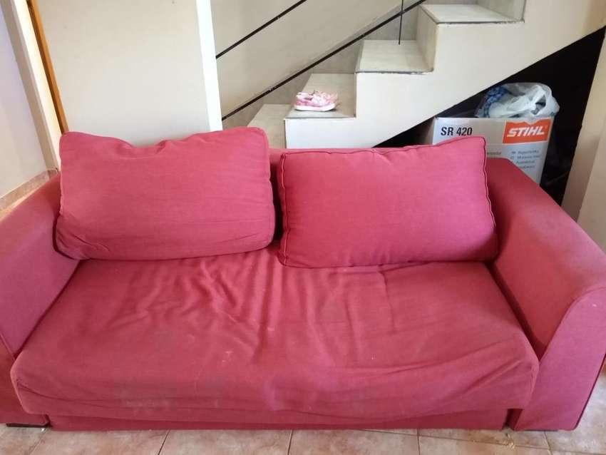 Vendo Sofa Cama (( Leer La Descripción)) 0