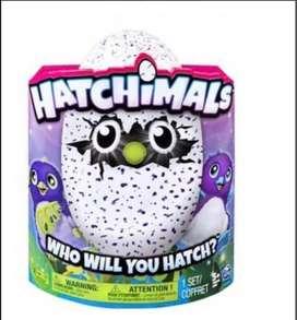 Hatchimals Serie 1 Huevo Grande Púrpura