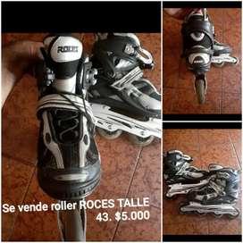 Vendo roller ROCES. TALLE 43