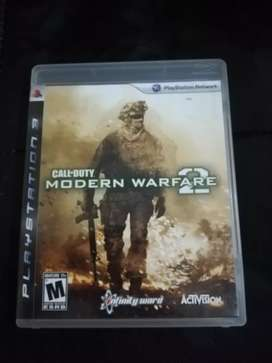 Call Of Duty Modern Warfare 2 PS3 Play 3 Cambio o Vendo