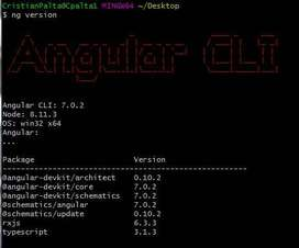 Clases de desarrollo web con angular