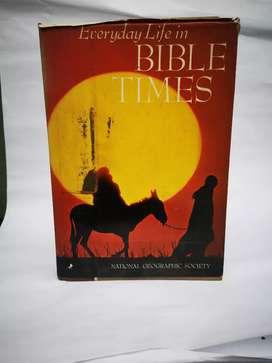 Libro La vida cotidiana en el tiempo de la biblia