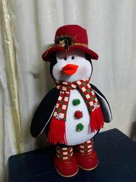 Lindo Pingüino Navideño