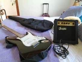 guitarra eléctrica, negociable