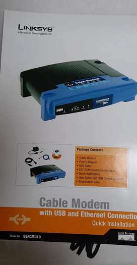 CABLE MODEM LINKSYS