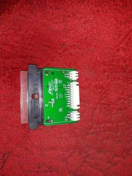 botonera y sensor de control remoto para hitachi CDH-LE32SMART10
