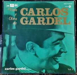 VINILOS VIDA Y OBRA DE CARLOS GARDEL VOL.3 (1971)