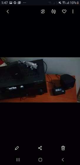 Amplificador Yamaha rx V375