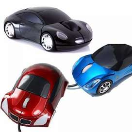 Mouse usb carro luminoso