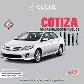 Amortiguadores en Quito : nuevos todas las marcas, venta instalacion D
