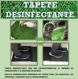 Tapete desinfectante