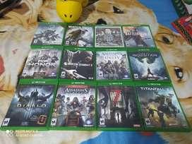Juegos Xbox one en perfecto estado